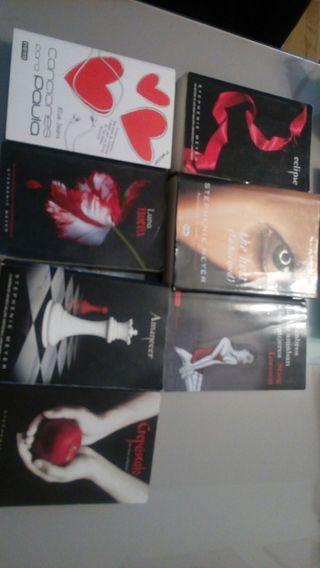 libros diversos: crepusculo, etc..ver foto