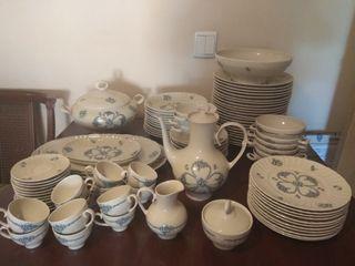 Vajilla porcelana Irabia