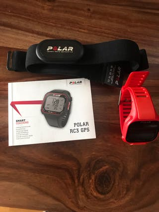 Pulsometro Polar RC3 GPS