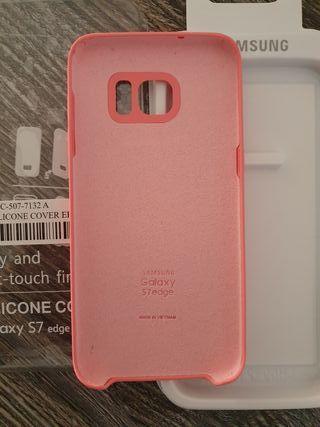 Funda silicona Samsung Galaxy s7 edge