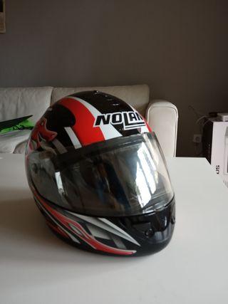 Casco de moto.