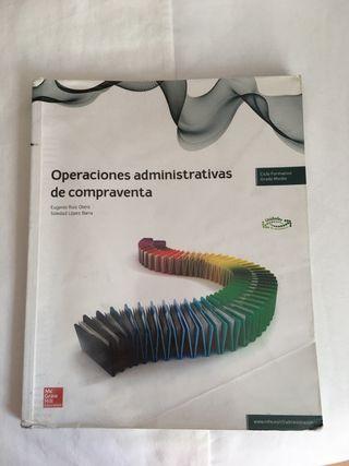 Libro Operaciones Administrativas de Compraventa
