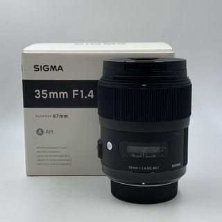 Sigma 35mm 1.4 Art