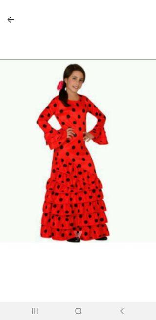 disfraz de flamenca talla8