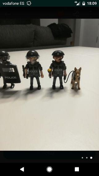 Playmobil policías