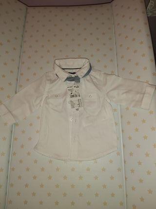 Camisa y pajarita bebe 3 meses