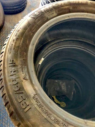 Vendo 4 neumáticos seminuevos Michelin Energy