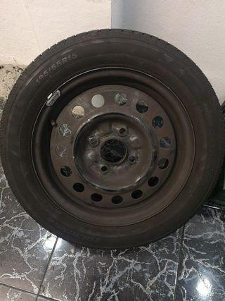 rueda de recambios