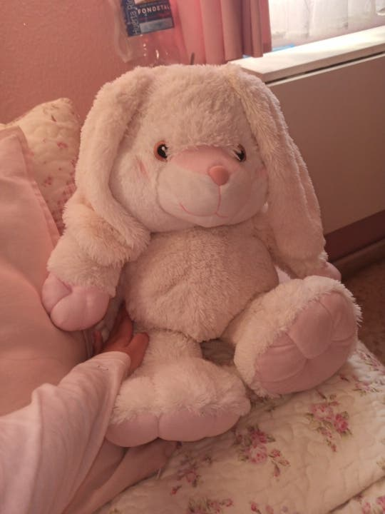 Conejo de peluche gigante para bebés