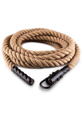 Cuerda de trepa de Cáñamo - Crossfit -