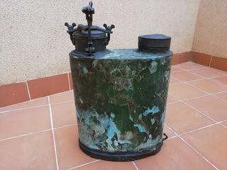 Máquina de ensulfatar antigua