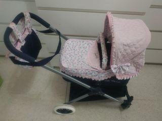 carrito de capota para niña