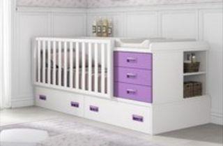 Dormitorio bebé que se transforma en juvenil