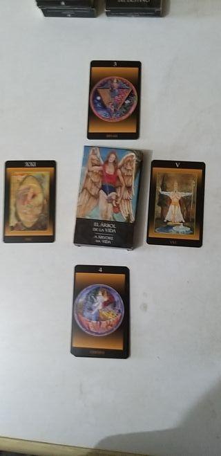 """cartas oraculo """"el arbol de la vida"""""""