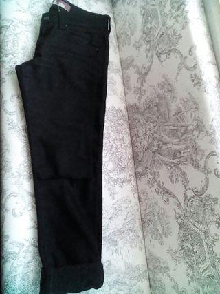 vaqueros jeans negro
