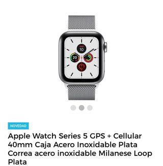 reloj Apple Watch serie 5 GPS + cell 40mm