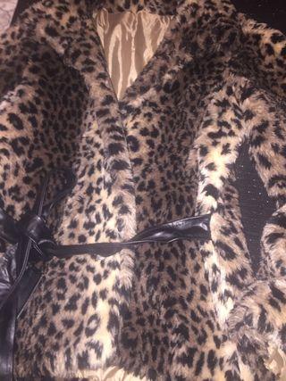 Abrigo /chaquetón leopardo