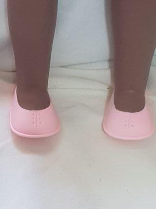Zapatos tipo botón para kika o similar