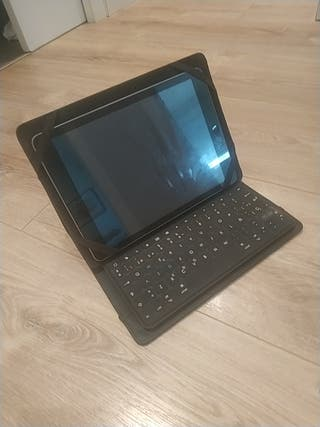 Teclado bluetooth iPad +funda