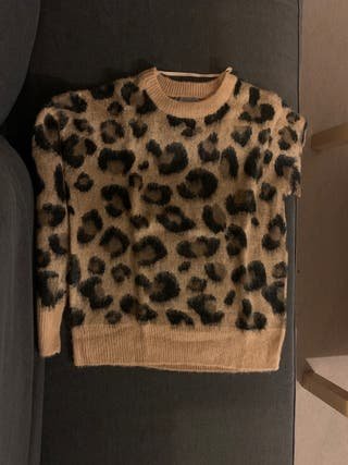 Animal print jumper. Brand new