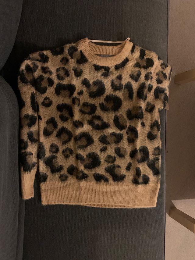 Animal print jumper. Brand new