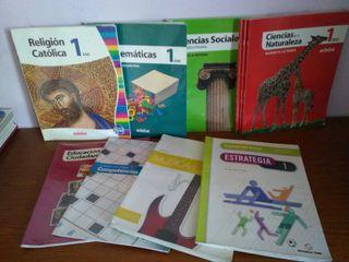 Libros de texto primero ESO