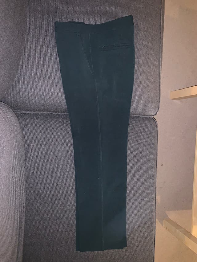 Dark green trouser suit - woman
