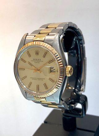 Reloj Rolex Date. Caballero/Unisex. Acero/Oro