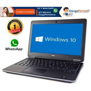 Portátil Dell E7240, i5 / 8Gb / SSD / Windows 10 G