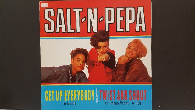 Salt -N-Pepa twist and shout disco vinilo