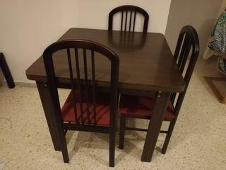 Conjunto de mesa y sillas (salón comedor)