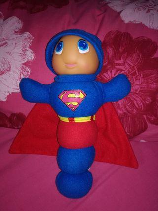 Muñeco Gusy Luz superhéroe SUPERMAN. Juguete.