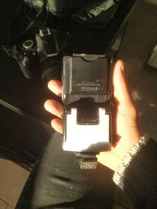 Nikon D3100 + Lente 50mm y de Kit
