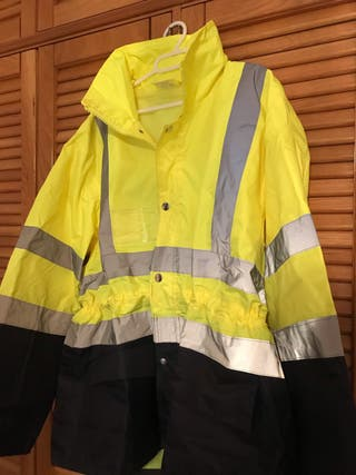 impermeable reflectante