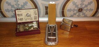 colección 3 afiliadores cuchillas afeitar
