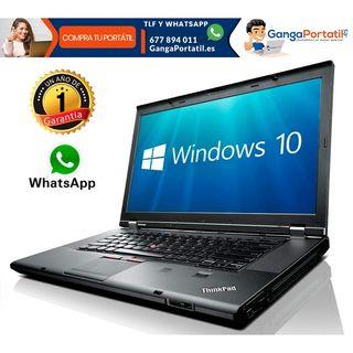 Portátil Lenovo T420, i5 / Web Cam / 8Gb / Windows