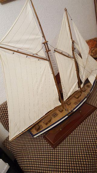 maqueta Barco / Velero de madera antiguo ( grande