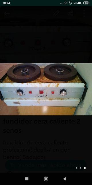 FUNDIDOR DE CERA PROFESIONAL