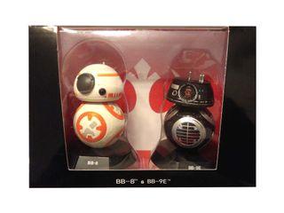 Star Wars robots BB8 y BB9