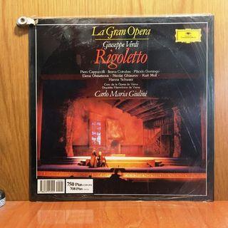 GIUSEPPE VERDI - RIGOLETTO (La Gran Opera) LP