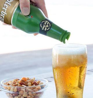 Espumador de cerveza ultrasonico para latas
