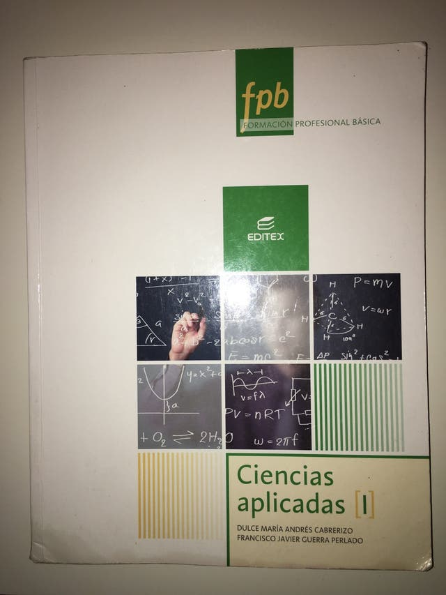 CIENCIAS APLICADAS I FORMACIÓN BÁSICA