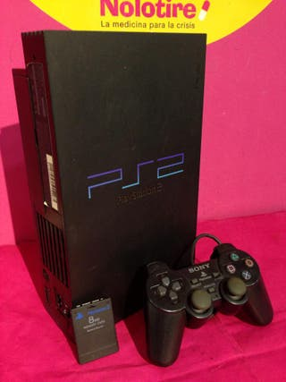CONSOLA SONY PS2 COMPLETA