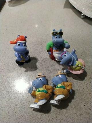 5 kinder hipopotamo antiguo