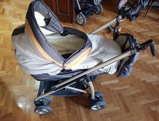 carro silla TRIO auto sillita capazo bebecar