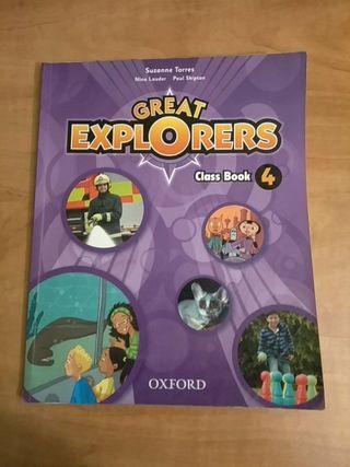 libro de inglés de 4° primaria