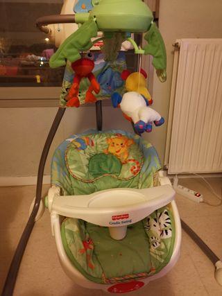 columpio bebés fisher price