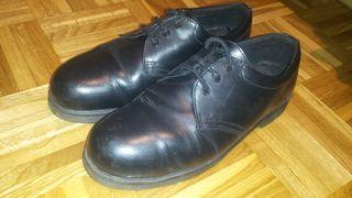 zapatos puntera de acero