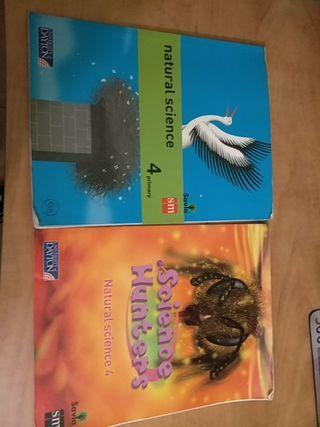 libro de natural science 4° de primaria