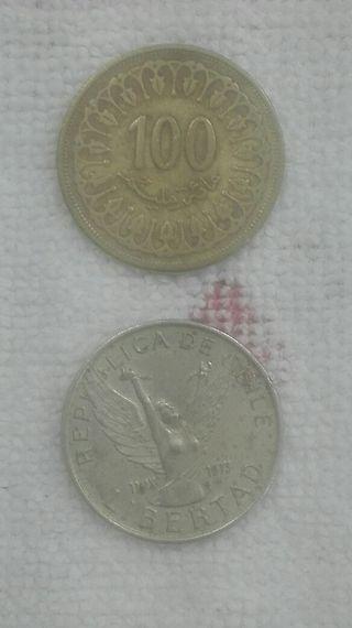 Monedas del mundo.